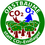 Obstbäume statt CO2-Endlager